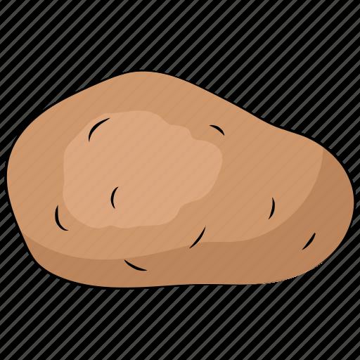 diet, food, healthy diet, nutrition, potato, vegetable icon