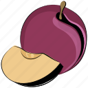 currant, food, fruit, organic, plum, prune icon