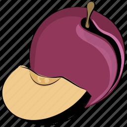 currant, food, fruit, organic, plum, prune icon