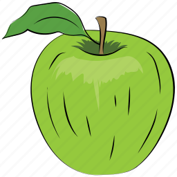 apple, food, fruit, healthy, healthy diet icon