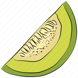 fruit, healthy diet, piece of watermelon, watermelon, watermelon slice icon