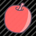 apple, eat, food, fruit icon