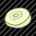 eat, food, fruit, kiwi, kiwifruit icon