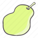 eat, food, fruit, pear icon