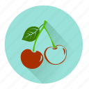 candy, cherry, dessert, food, fresh, fruit, sweet icon