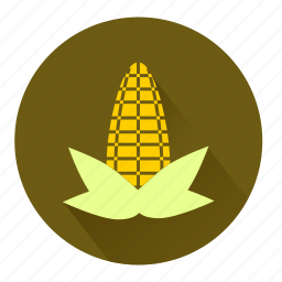 candy, corn, leaves, maize, plant, popcorn, snack icon