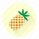 ananas, drink, fresh, fruit, fruits, juice, pinapple icon