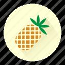 ananas, drink, fresh, fruit, fruits, juice, pinapple icon