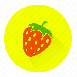 berry, food, fruit, strawberry, sweet icon