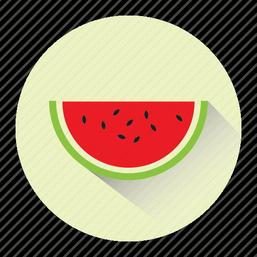 diet, fresh, fruit, juicy, melon, slice, watermelon icon