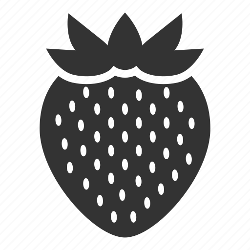 berry, diet, food, healthy food, strawberry, sweet, vegetarian icon