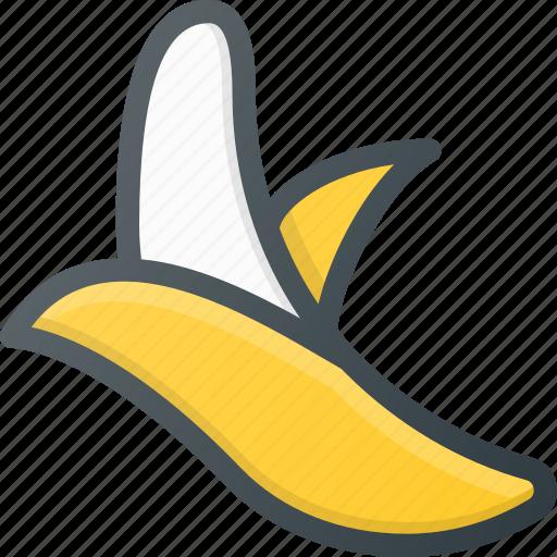 banan, food, fruit, health, healthy icon