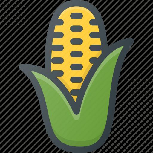 corn, food, health, healthy, pop, vegetable icon