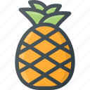 food, fruit, health, healthy, pineapple icon