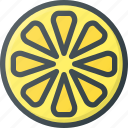 food, fruit, health, healthy, lemon, lime icon