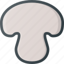 food, health, healthy, mushroom icon
