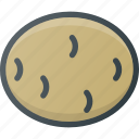 chips, food, health, healthy, potato, vegetable icon