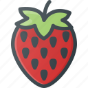 food, fruit, health, healthy, strawberry icon