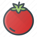 food, fruit, health, healthy, tomato, vegetable icon