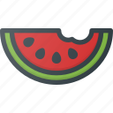 food, fruit, health, healthy, melon, watermelon icon