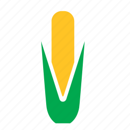 corn, food, maize, vegetable icon