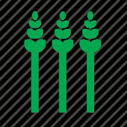 food, leek, nature, plant, vegetable icon