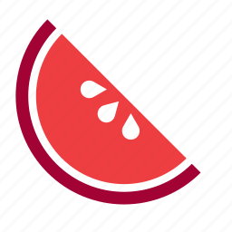 food, fruit, grapefruit, half, pomegranate, slice, vegetable icon
