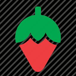 food, fruit, strawberry icon