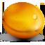 apricot, fruit icon