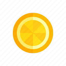 colour, food, fruit, health, juice, orange, slice icon
