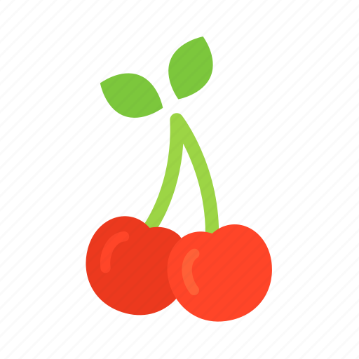 cherries, cherry, colour, food, fruit, health, red icon