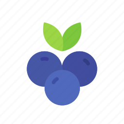 berry, blue, blueberries, blueberry, colour, food, fruit icon