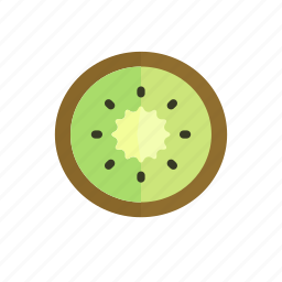 colour, food, fruit, green, kiwi, tropical icon