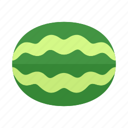 colour, food, fruit, green, health, melon, watermelon icon