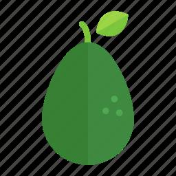 avocado, colour, food, fruit, green, guacamole, health icon