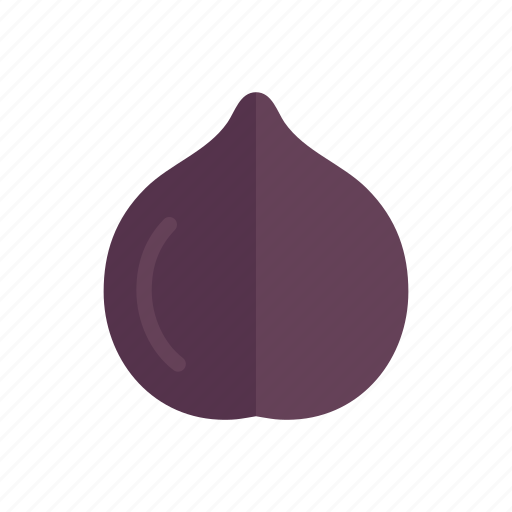 colour, fig, food, fruit, health, purple icon