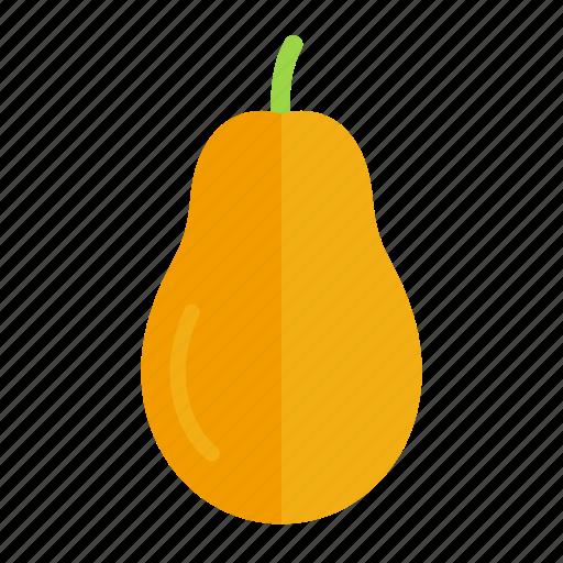 colour, food, fruit, health, papaya, tropical, yellow icon