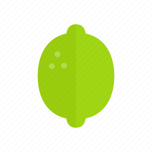 colour, food, fruit, green, health, lime icon