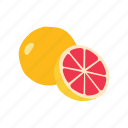 food, fruit, grapefruit, healthy, juicy, kitchen, organic