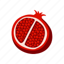 food, fruit, healthy, ingredient, kitchen, pomegranate, restaurant
