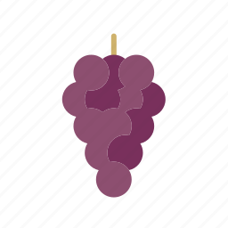 berry, blue, food, fruit, grapes, red, wine icon