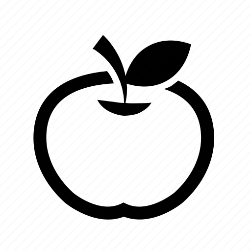 apple, food, fruit, healthy, ingredient, piece icon