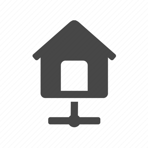 ftp, home, house icon
