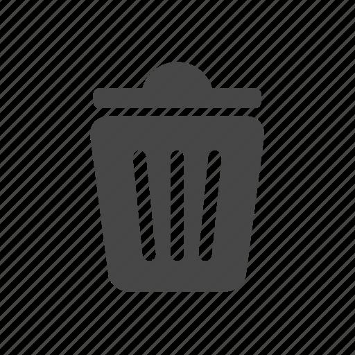 can, delete, ftp, trash icon