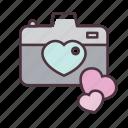 valentine, love, camera, moment, romantic