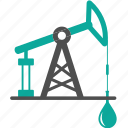 business, drop, extraction, fossil, fuel, oil, petroleum, production, pump icon