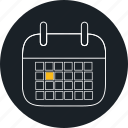 calendar, dates, event, planning, time icon