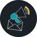 email, email marketing, feedback, notification icon