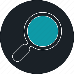 find, research, search, view, zoom icon