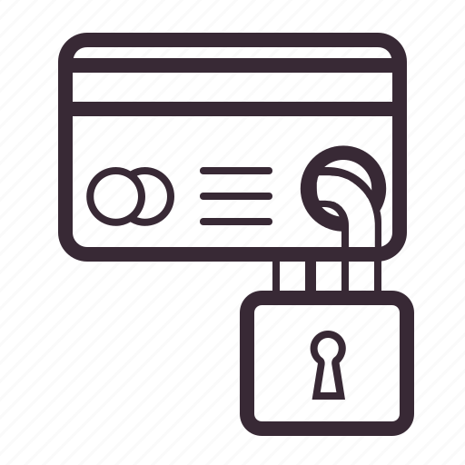 card, finance, lock, payment, protection, secure, security icon
